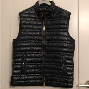 Burberry Brit black puffer vest. Large